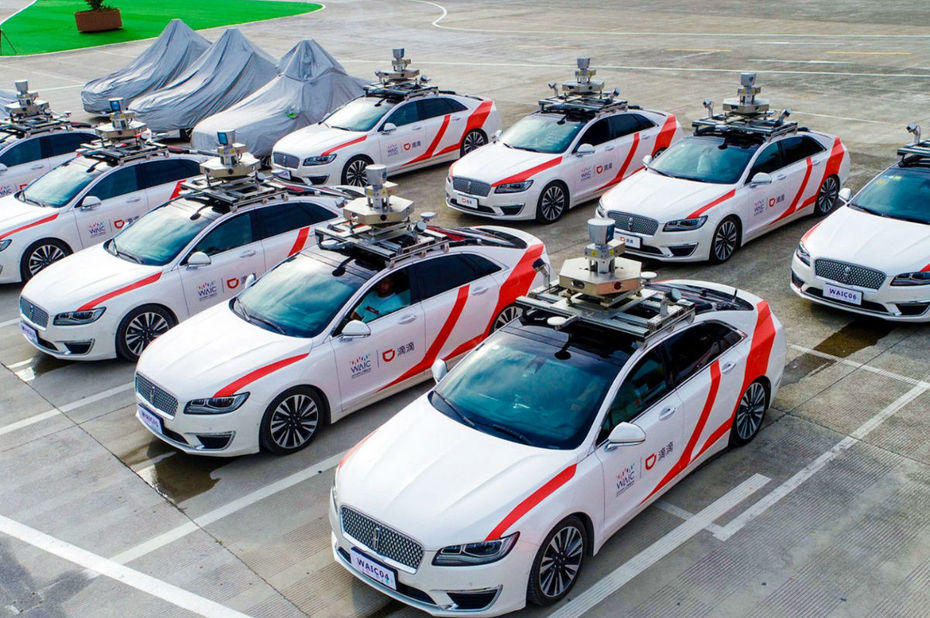 Digital en Chine - TMD DIDI CHUXING 滴滴出行 VEHICULES AUTONOMES