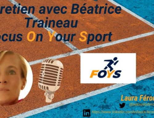 Interview : Focus On Your Sport (FOYS) : Solution digitale dans le sport