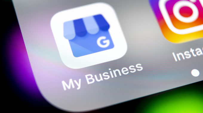Logo application Google My Business