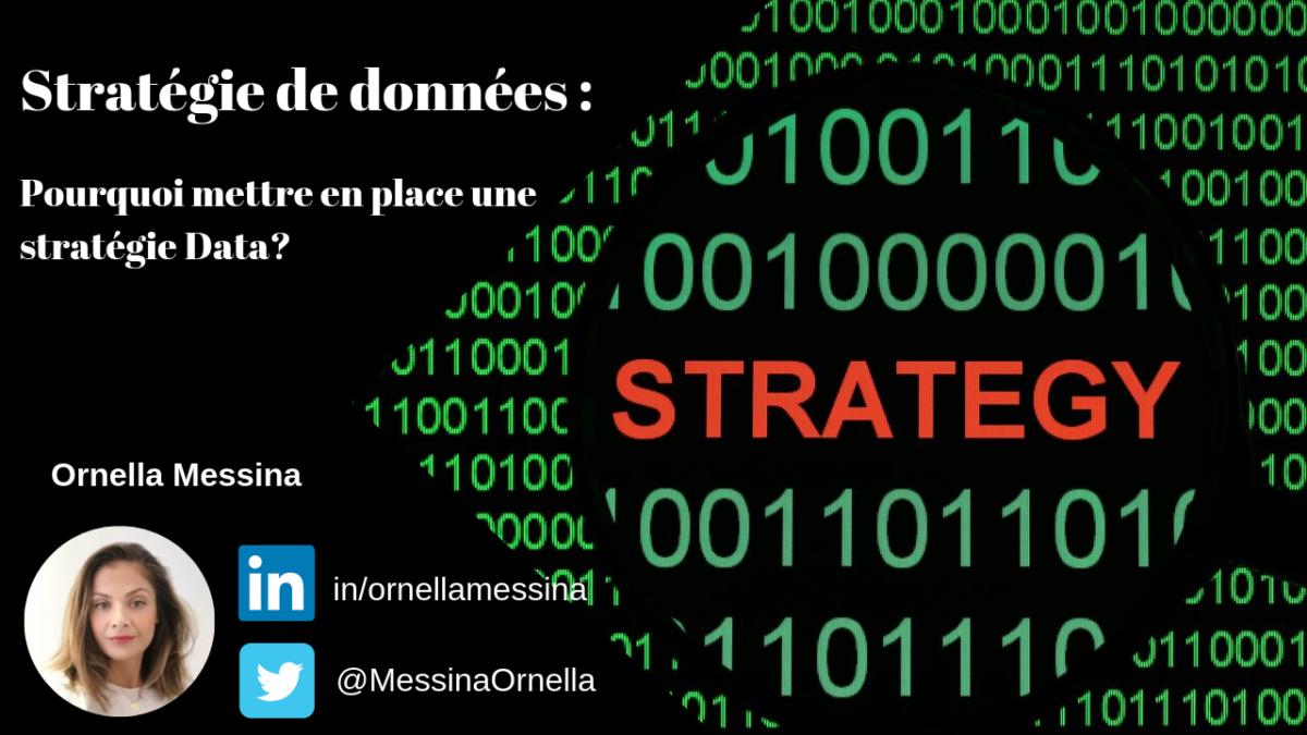 Stratégie Data Stratégie des données