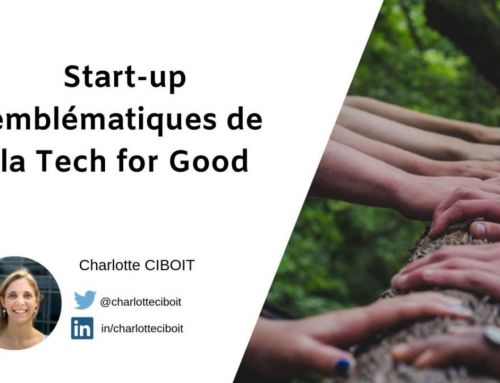 Start-up emblématiques de la Tech for Good