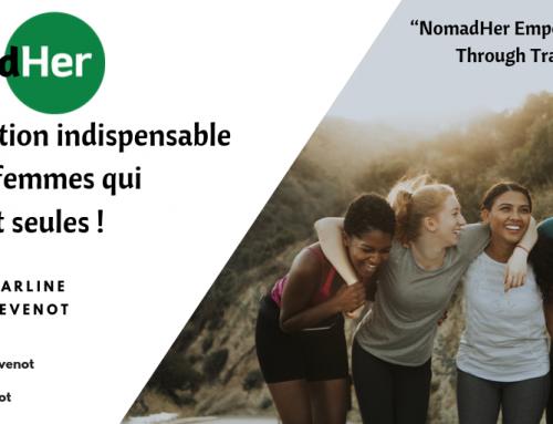 NomadHer, l'application indispensable pour les femmes qui voyagent seules.