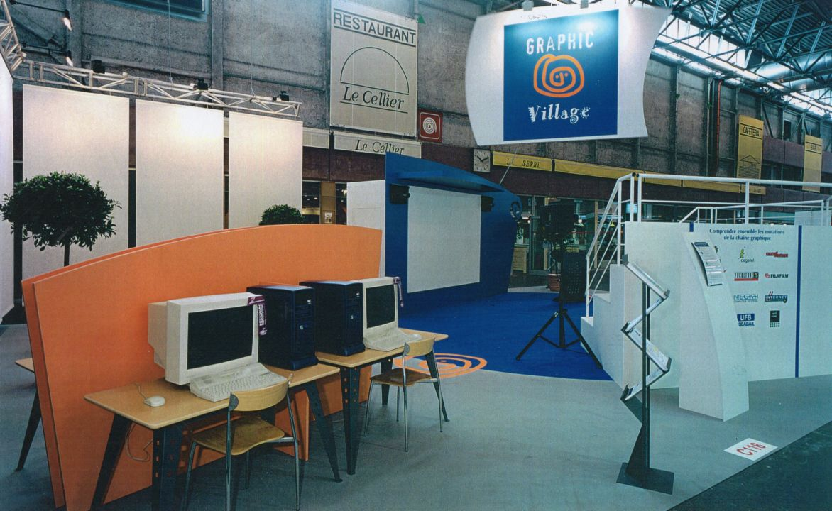 Graphic Village au Salon Graphitec 98