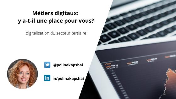 Métiers digitaux blog Polina Kapshai MBA MCI