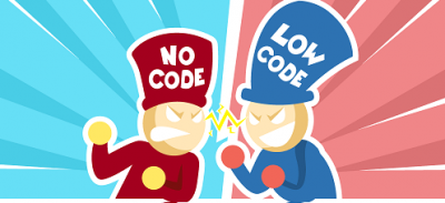 No-code VS Low-Code