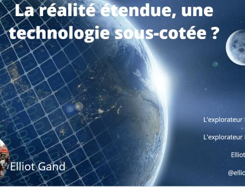 La réalité étendue, une technologie sous-cotée ?