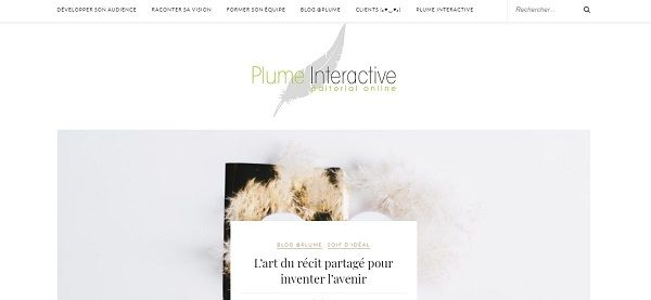 blog Storytelling : Plume interactive