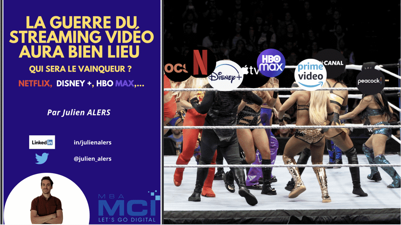 julien alers plateforme streaming vidéo video netflix disney+ hbomax canal+ apple OCS peacock