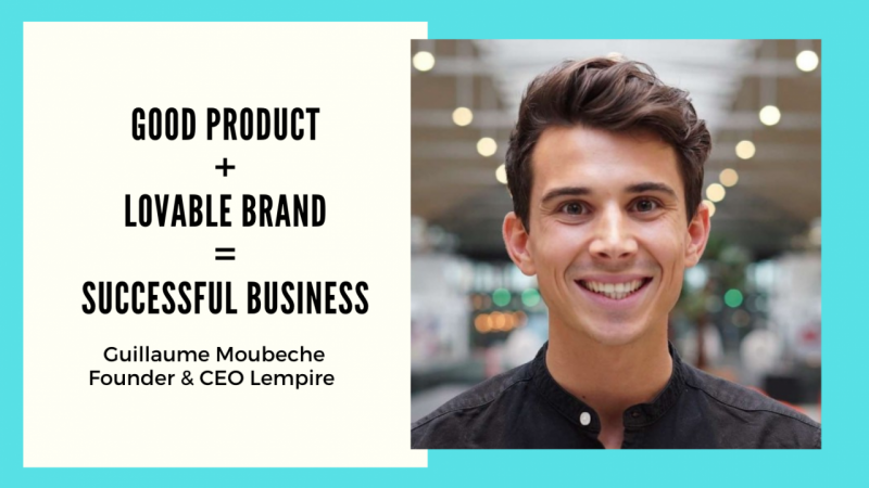 personal branding Guillaume Moubeche