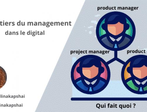 Les métiers du management dans le digital.