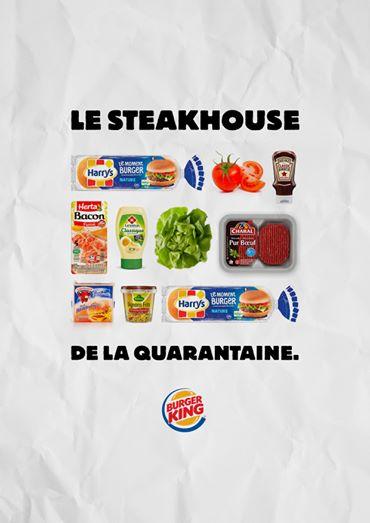Burger-King communication coronavirus
