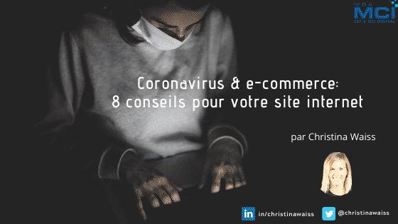 Coronavirus et ecommerce