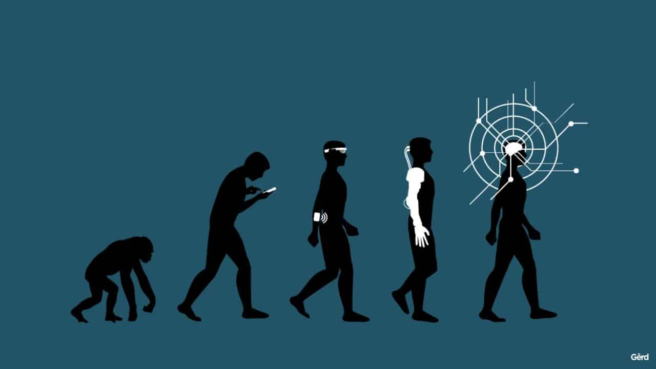 Evolution de 'Homme
