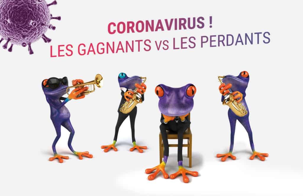 gagnants ou perdants GAFA coronavirus