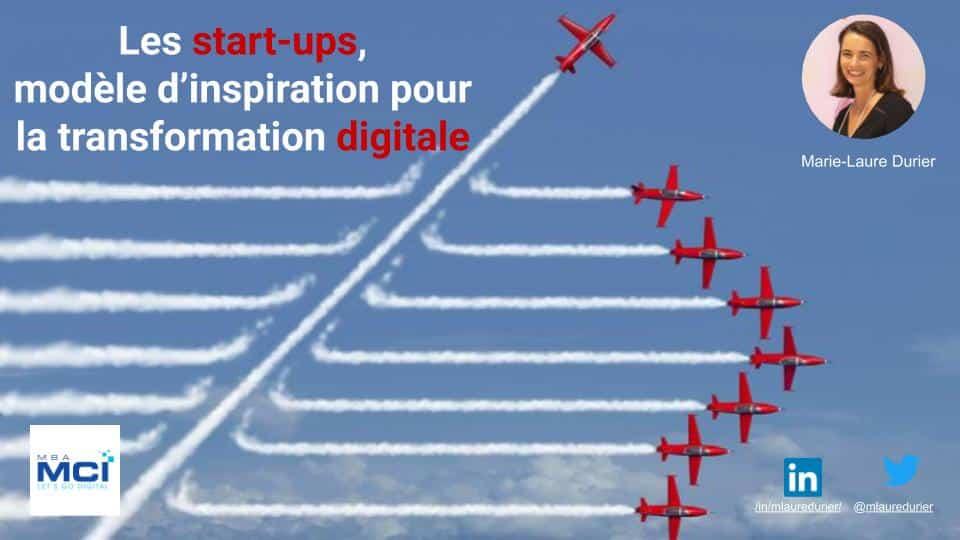 Start-up & transformation digitale