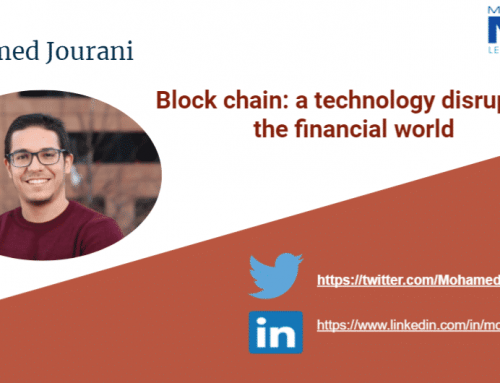 Block chain: a technology disrupting the financial world