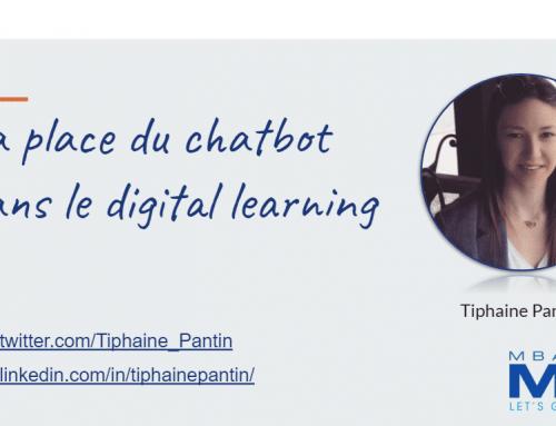 La place du chatbot dans le digital learning