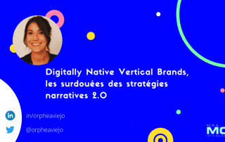 bannière article de blog, digitally native vertical brands storytelling