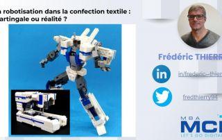 la robotisation dans la confection textile