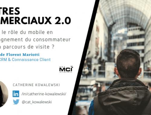 Centres Commerciaux 2.0 – Quel est le rôle du Mobile en accompagnement du consommateur dans son parcours de visite ?