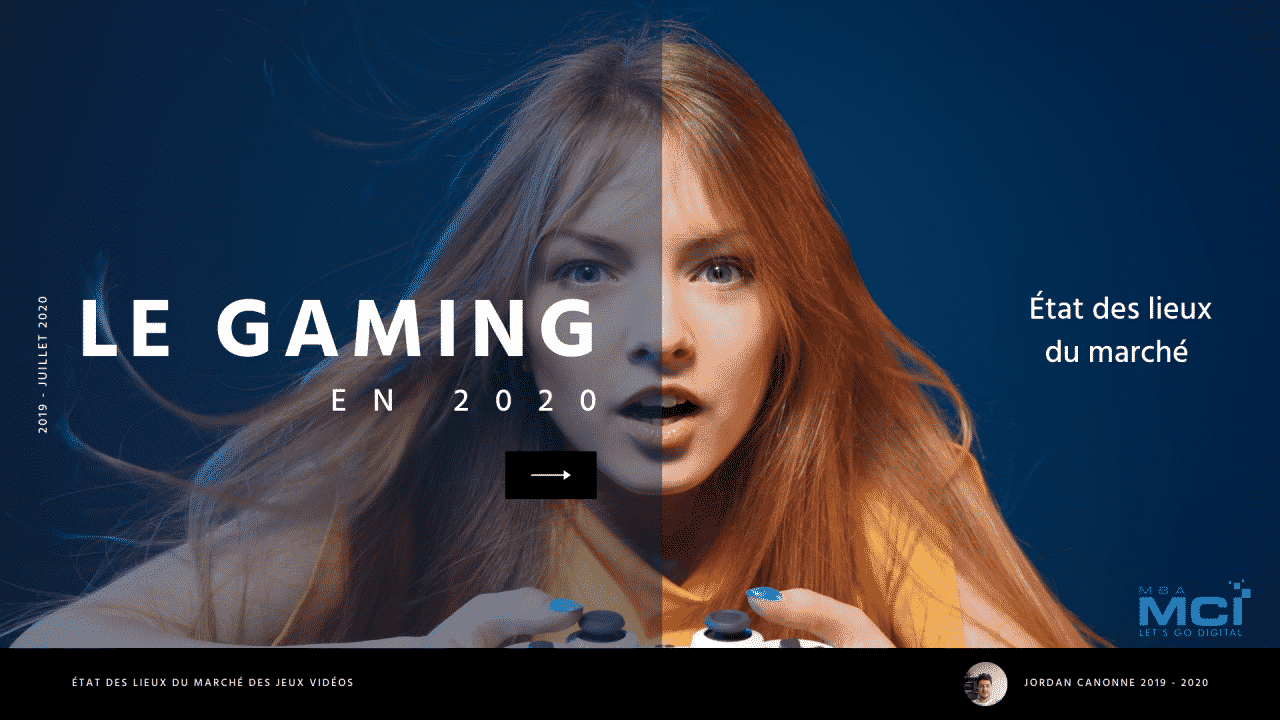 Le Gaming en 2020