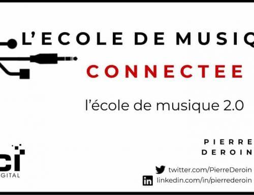 École de musique connectée : l'école de musique 2.0