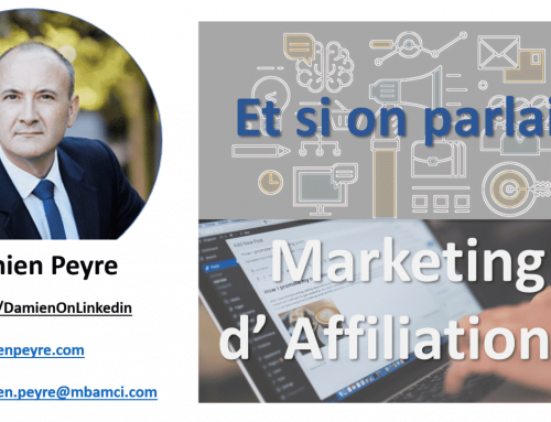 Et si on parlait Marketing d'Affiliation?