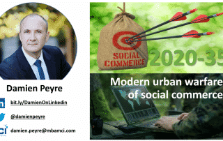 damien peyre introduces modern urban warfare of social commerce