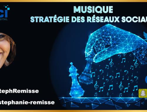 Musique, stratégie de communication des réseaux sociaux