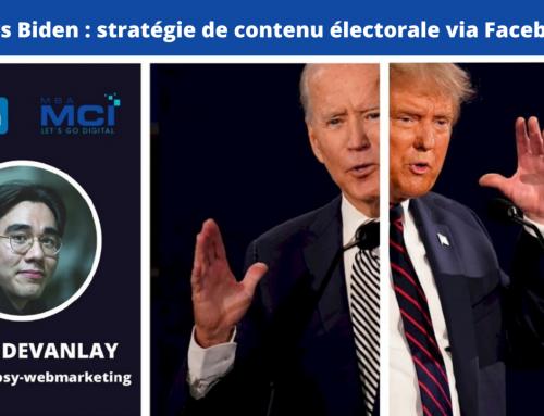 Trump vs Biden : stratégie de contenu électorale via Facebook Ads
