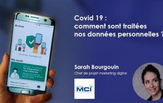 Covid : quel traitement de nos données personnelles, article de Sarah Bourgouin, MBAMCI