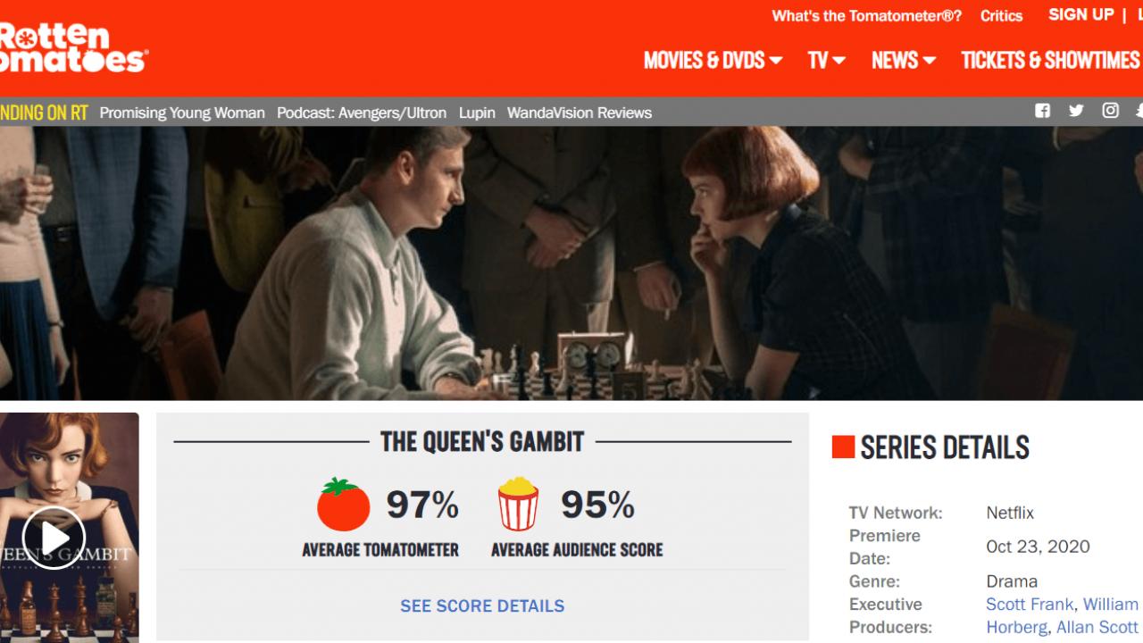 Notes-queens-gambit-Rotten-Tomatoes