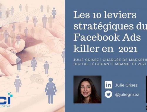 Les 10 leviers stratégiques du Facebook Ads killer en 2021