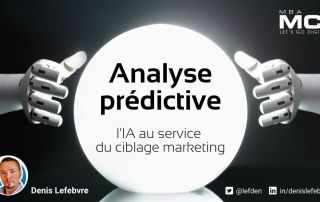 Analyse prédictive : l'IA au service du ciblage marketing