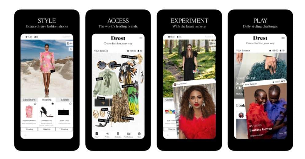 Drest-Stylling-Virtual-app
