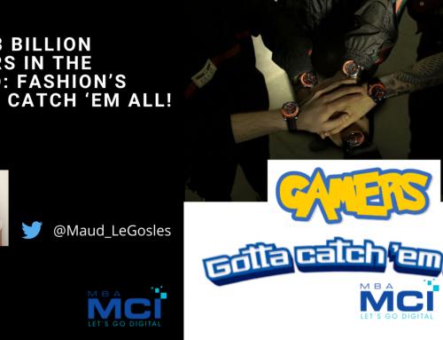Over 3 billion gamers in the world: fashion's gotta catch 'em all!